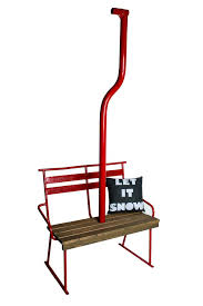 Ski Service Bench Ski Decor And Ski Furniture Vintagewinter