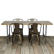 Reclaimed Wood Dining Room Tables Reclaimed Table Custom Wood Furniture Modern Salvaged Urban