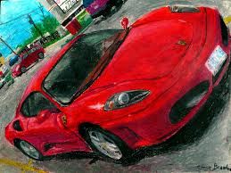 ferrari front drawing an oil pastel drawing of a ferrari f430 this is an oil pa u2026 flickr