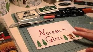 Decorated Envelopes Decorating Christmas Envelopes Youtube