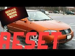 service engine soon light nissan sentra how to reset service engine soon light on a 2001 nissan sentra