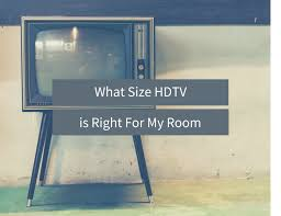 Living Room Wall Designs To Put Lcd What Size Hdtv Is Right For My Room Design Inside