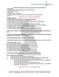 illinois private security contractor license exam prep kit 389