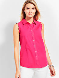 womens no iron blouses s no iron shirts wrinkle free shirts talbots