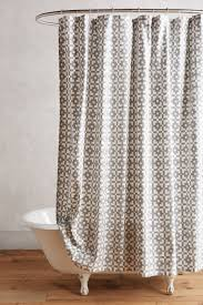 the latest in shower curtain trends view in gallery geo shower curtain from anthropologie