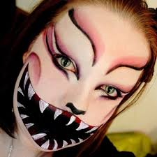 Scary Alice Wonderland Halloween Costume Scary Halloween Makeup Beautylish