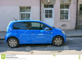 volkswagen electric car electric car volkswagen e up editorial image image 75485415