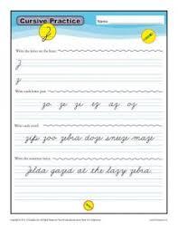free cursive alphabet worksheets cursive letters k12reader