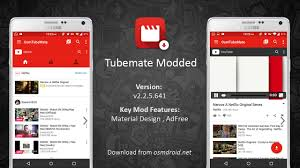 tubemate android tubemate 2 2 5 641 mod apk adfree material design android