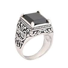 men rings compare prices on mens signet rings silver online shopping buy