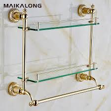 Glass Bathroom Accessories by Compare Prices On Glass Shelf Accessories Online Shopping Buy Low