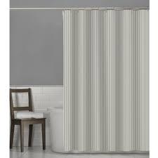 White Cotton Duck Shower Curtain Striped Shower Curtains You U0027ll Love Wayfair