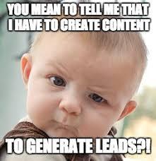Generate Memes - skeptical baby meme imgflip