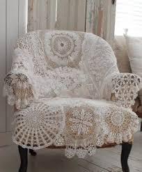Crochet Armchair Covers Chairs Covers Foter