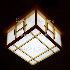 Japanese Ceiling Light Best Japanese Ceiling Lights Solid Wood Japanese Style L Room