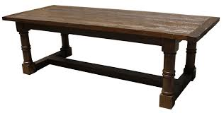 modern custom hand crafted table made from reclaimed wood built in