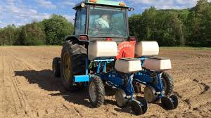 planing corn with the monosem two row planter youtube