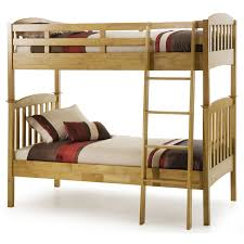 Kids Oak Bedroom Furniture Modern Kids Bedroom With Unstained Wooden Oak Bunk Bed Using White