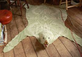 recycled faux bearskin rug inhabitat u2013 green design innovation
