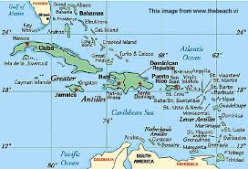 map of vi us islands maps and location