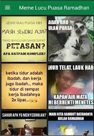 Ramadhan Meme - download dp meme lucu puasa ramadhan google play softwares