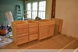 peninsula kitchen cabinets peninsula cabinet installation almost finished