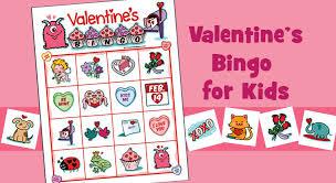 valentines bingo valentines bingo for kids 4x4 image bingo