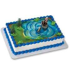 fisherman cake topper fisherman with fish decoset cake decoration