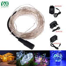 christmas light blinker adapter ywxlight christmas lights outdoor 4 colors garland 5m 50led string
