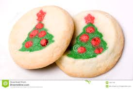 christmas tree sugar cookies stock photography image 7451742