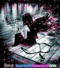 imagenes de amor triste animadas angel triste gif