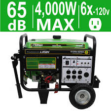 powerstroke 6 800 watt gasoline powered electric start portable