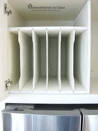 kitchen cabinet tray dividers kitchen cabinet tray dividers invilla info