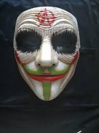 anonymous mask anonymous joker anarchy batman custom mask