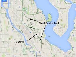 Google Maps Seattle by Better Know A Bike Counter Chief Sealth Trail At Thistle Street