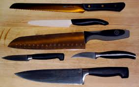 different types of kitchen knives and their uses 100 images