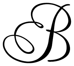 monogram letter stickers single letter monogram 2 decal sticker