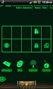 pipboy android pipboy 3000 fallout 3 theme android application appstorehq