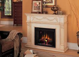 Fireplace Electric Insert Heater Electric Insert In Fireplace On Custom Fireplace