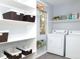 laundry room storage shelves utility room shelves in addition to