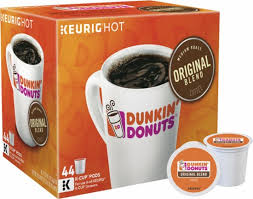 Blend K Cups Keurig Dunkin Donuts Original Blend K Cup Pods 44 Pack Brown