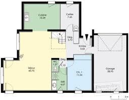 Plan De Maison En Longueur Maison Contemporaine 8 Détail Du Plan De Maison Contemporaine 8