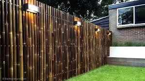 garden bamboo fence panels peiranos fences biggest bamboo