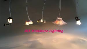 Dollhouse Lighting Fixtures 8 Diy Miniature Dollhouse Lighting Miniatura De Luminárias Para