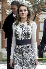 royal couture princess letizia in felipe varela miguel