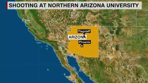 University Of Arizona Map Northern Arizona University Shooting Followed Confrontation