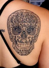 extreme 3d skull tattoo design in 2017 real photo pictures