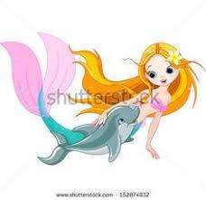 cartoon mermaid 02 vector mythacal creatures