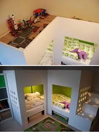 diy ikea loft bed 20 awesome ikea hacks for kids beds hative