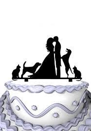 meijiafei kissing lovers two dogs u0026 cats wedding cake topper bride